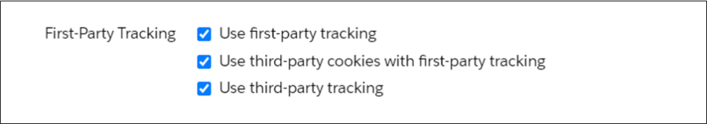 pardot first-party tracking