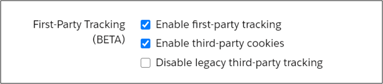 Pardot enable first-party tracking