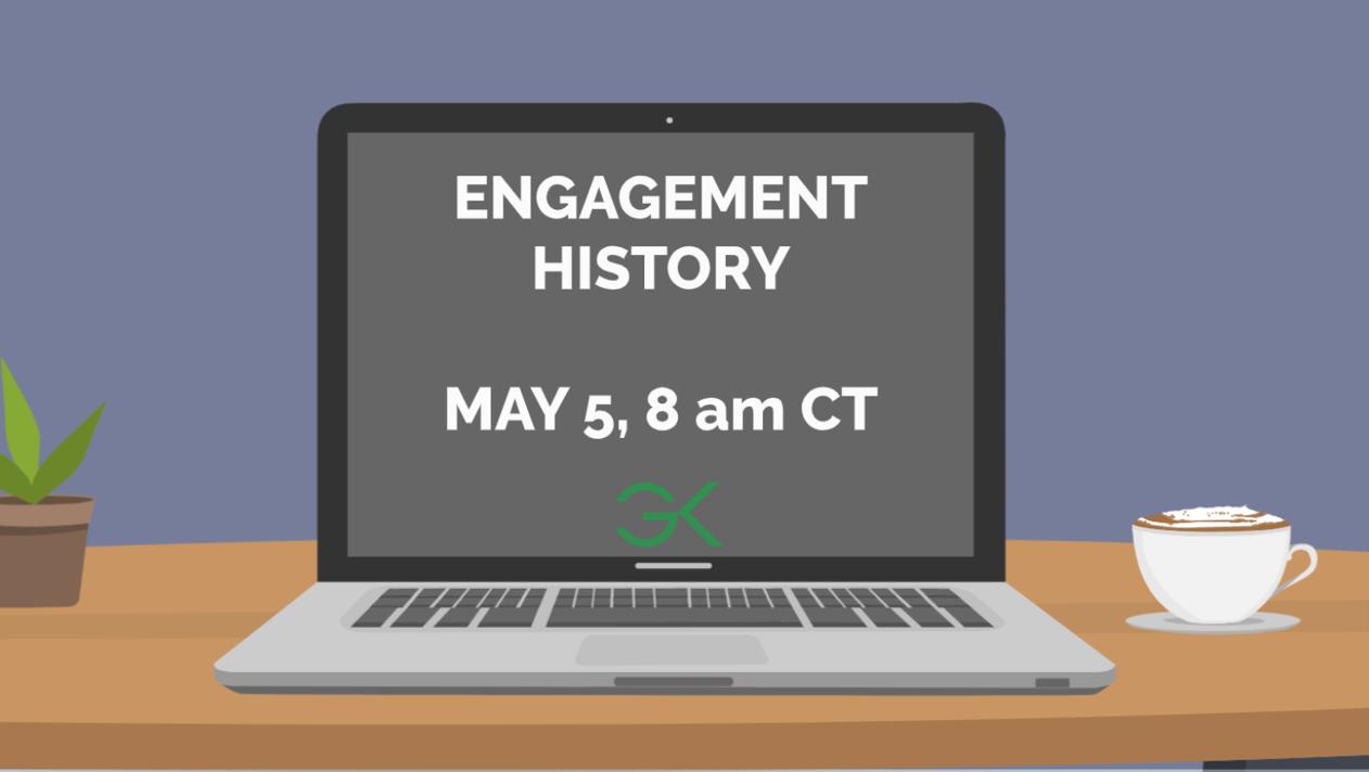 engagement history