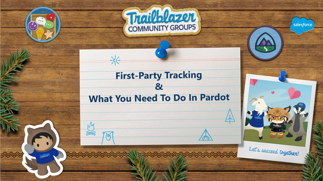 First-Party Tracking - Pardot User Group